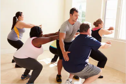 obese exercise - shutterstock