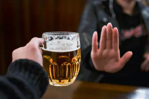 stop drinking - shuttershock